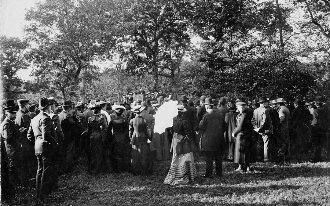Grundlovsmøderne i Herthadalen i 1800-tallet