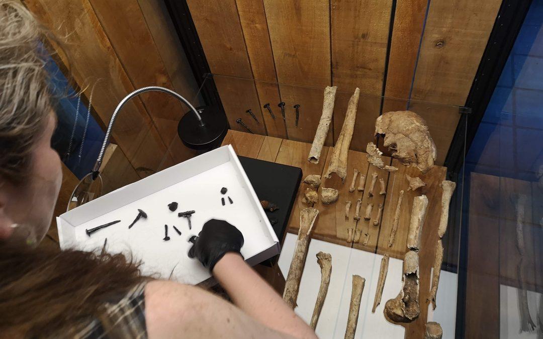 Skelet-mysteriet fortsætter på Lejre Museum